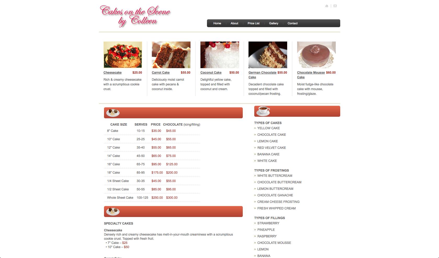 cakes screen 2